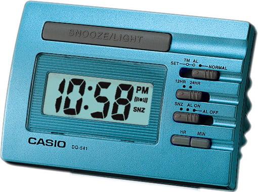 CLOCK-MASA SAATİ-DQ-541D-2RDF-Masa Saati
