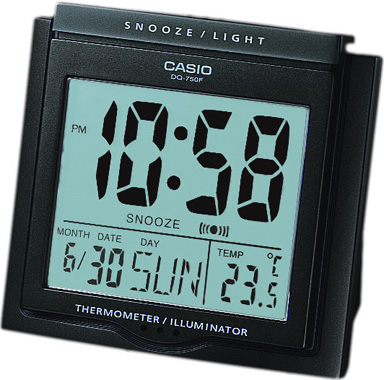 CLOCK-MASA SAATİ-DQ-750F-1DF-Masa Saati