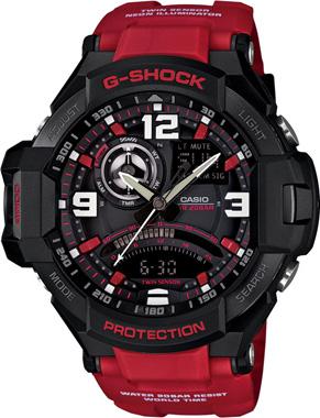 G-SHOCK-MASTER OF G-GA-1000-4BDR-Kol Saati