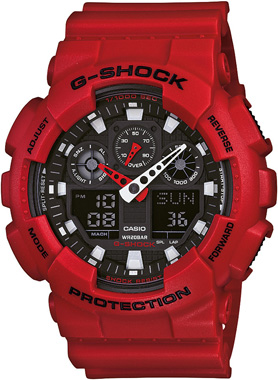 Casio-G-SHOCK-GA-100B-4ADR-Kol Saati