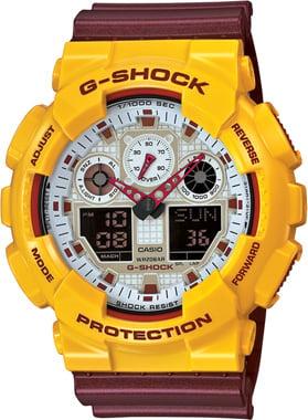 Casio-G-SHOCK-GA-100CS-9ADR-Kol Saati