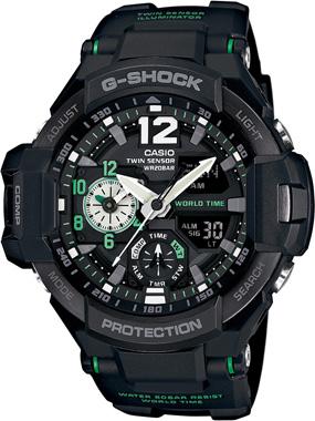 G-SHOCK-MASTER OF G-GA-1100-1A3DR-Kol Saati