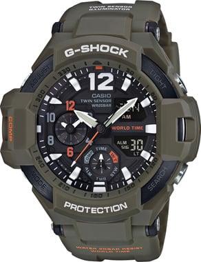 G-SHOCK-MASTER OF G-GA-1100KH-3ADR-Kol Saati