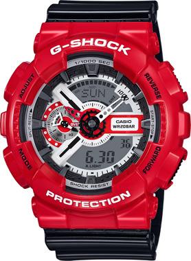 Casio-G-SHOCK-GA-110RD-4ADR-Kol Saati