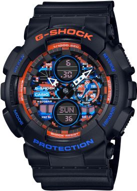 Casio-G-SHOCK-GA-140CT-1ADR-Kol Saati