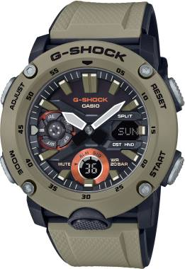 G-SHOCK-CARBON-GA-2000-5ADR-Kol Saati