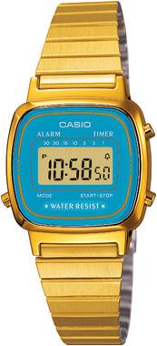 Casio-RETRO-LA670WGA-2DF-Kol Saati