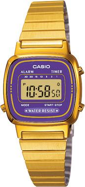 Casio-RETRO-LA670WGA-6DF-Kol Saati
