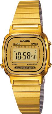 Casio-RETRO-LA670WGA-9DF-Kol Saati