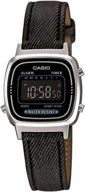 Casio-RETRO-LA670WL-1BDF-Kol Saati