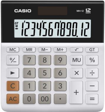 Casio DESKTOP MH-12-WE-W-DP Hesap Makinesi