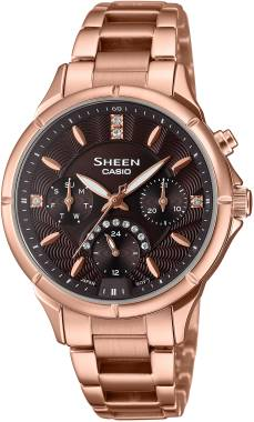 Casio-SHEEN-SHE-3047PG-5AUDR-Kol Saati
