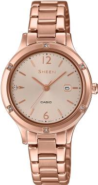 Casio-SHEEN-SHE-4533PG-4AUDF-Kol Saati