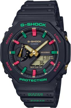 G-SHOCK CARBON GA-2100TH-1ADR Kol Saati
